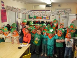 Room 2 St Patricks Day