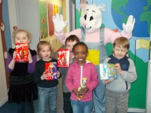 Easter Raffle winners 5