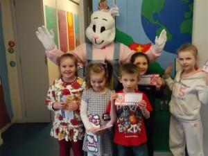 Easter Raffle winners 6